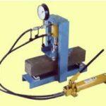 hydraulic concrete beam testing machine alat uji sipil media sarana teknik bandung
