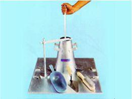 slump test set cast alumunium alat uji sipil media sarana teknik bandung