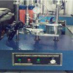 unconfined compression machine electric alat uji sipil media sarana teknik bandung