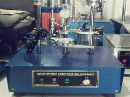 unconfined compression machine electric alat uji sipil media sarana teknik bandung